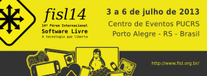 FISL14 300x110 14º Forum Internacional de Software Libre #fisl14