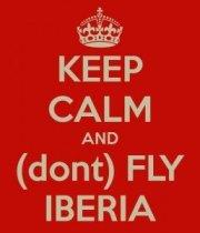 Iberia, el terror por volar