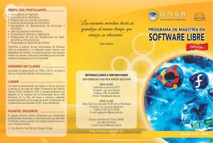 Master Software Libre Unversidad Andina