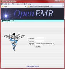 openEMR 284x300 Gestión hospitalaria (HIS) con software libre