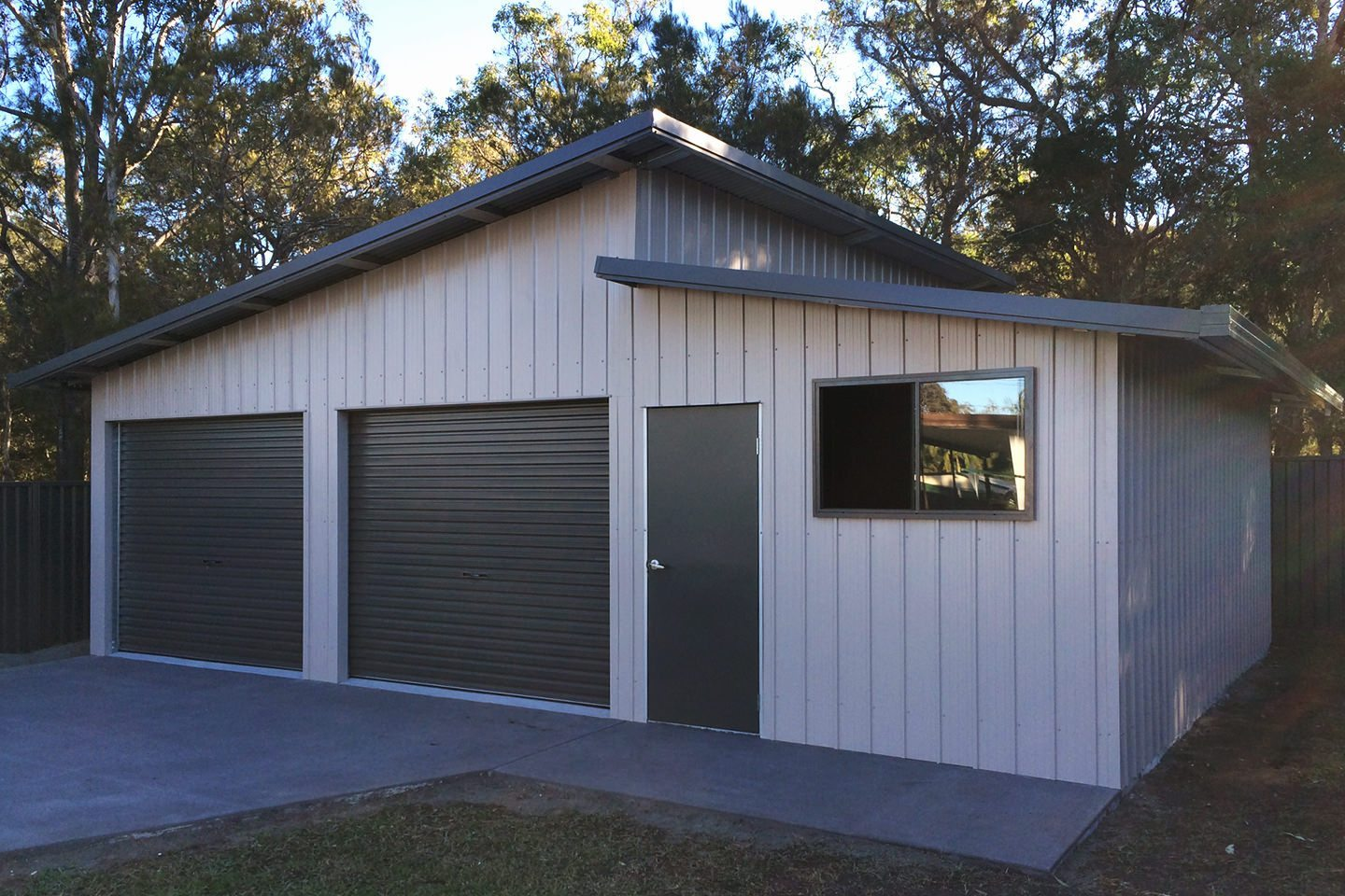 Design Schuur Skillion Roof Sheds And Garages Ranbuild