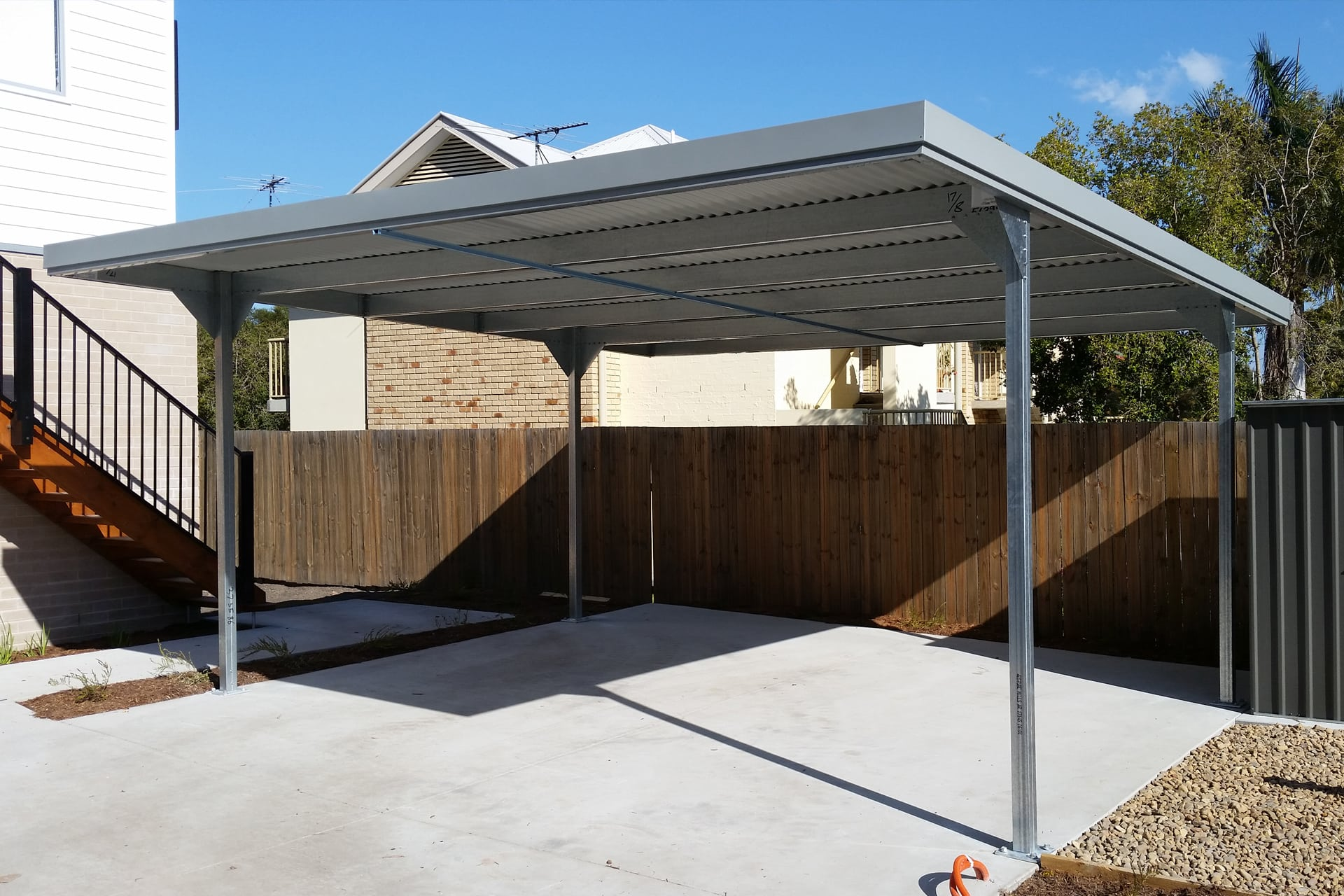 Zeichnung Carport Carports Gable And Skillion For Sale Ranbuild