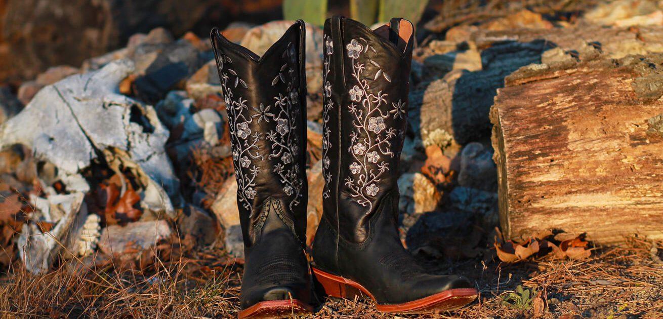 Rancho Semental Authentic Western Cowboy Boots
