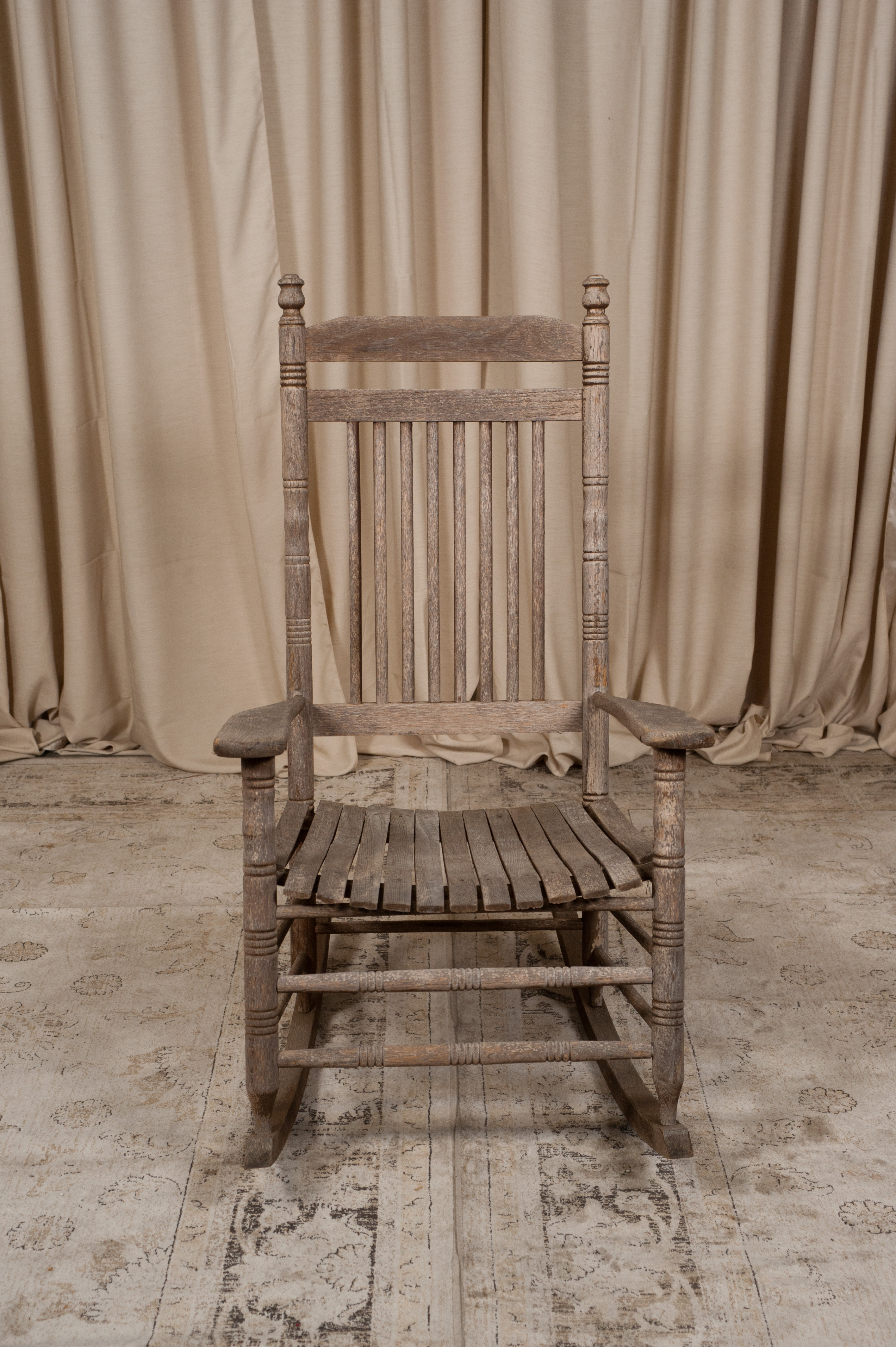 Wood Rocking Chair Rustic Wood Rocking Chair