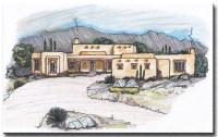 Important elements for a pueblo style house plan ...