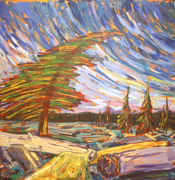 Painting Picture Frames With Acrylic Emily Carr | Randall Talbot - Artist