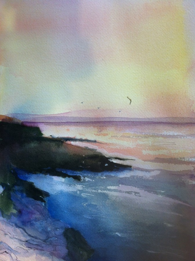 Rande-May-Watercolor-Monhegan