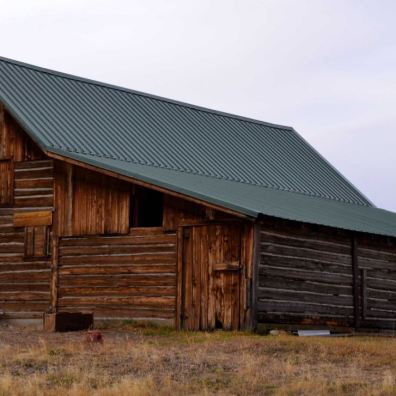 Restored 100-year-old barn.