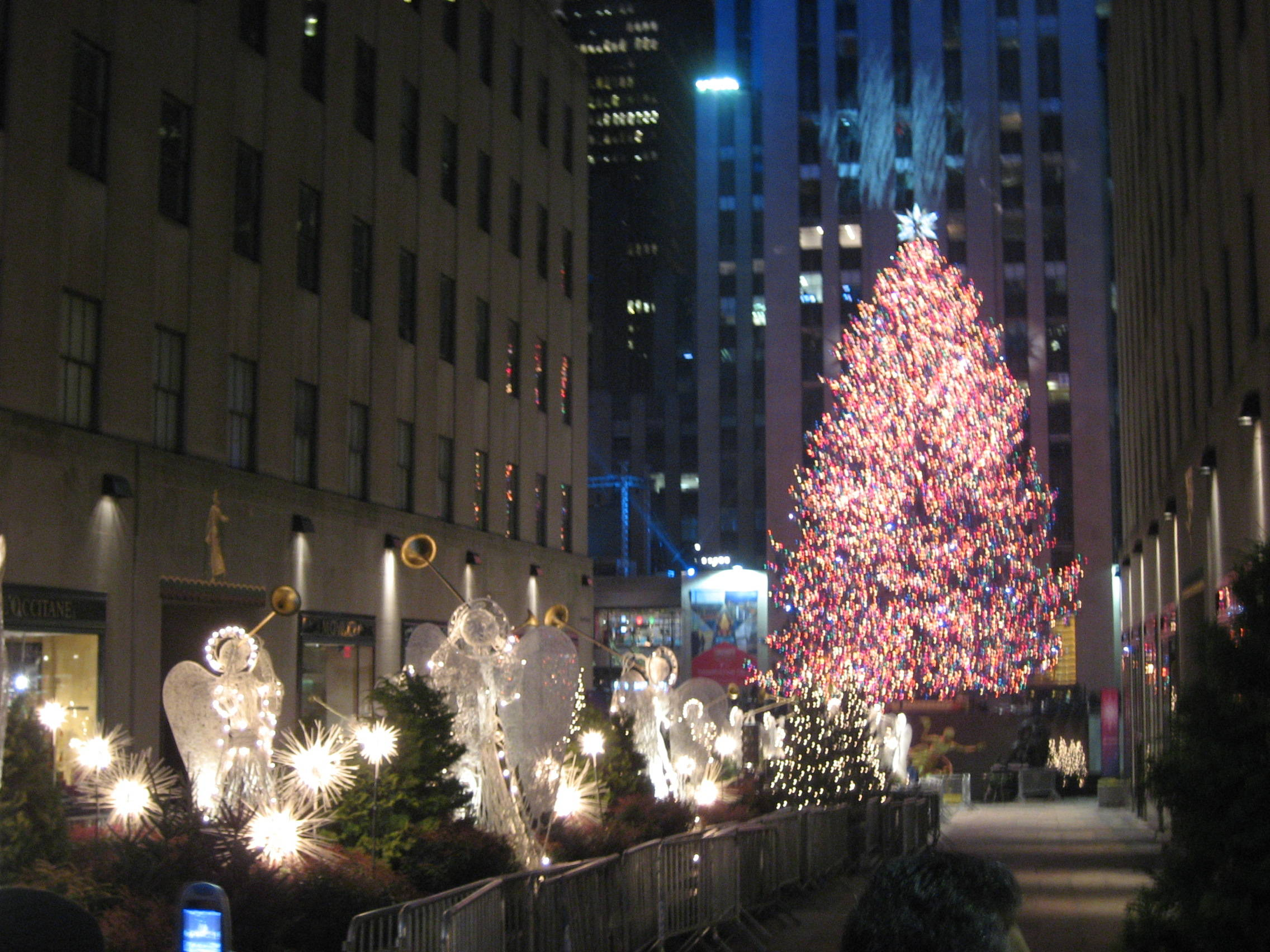 Rockefeller Center Tree Lighting Channel The Rockefeller Center Christmas Tree Is Now Lighted