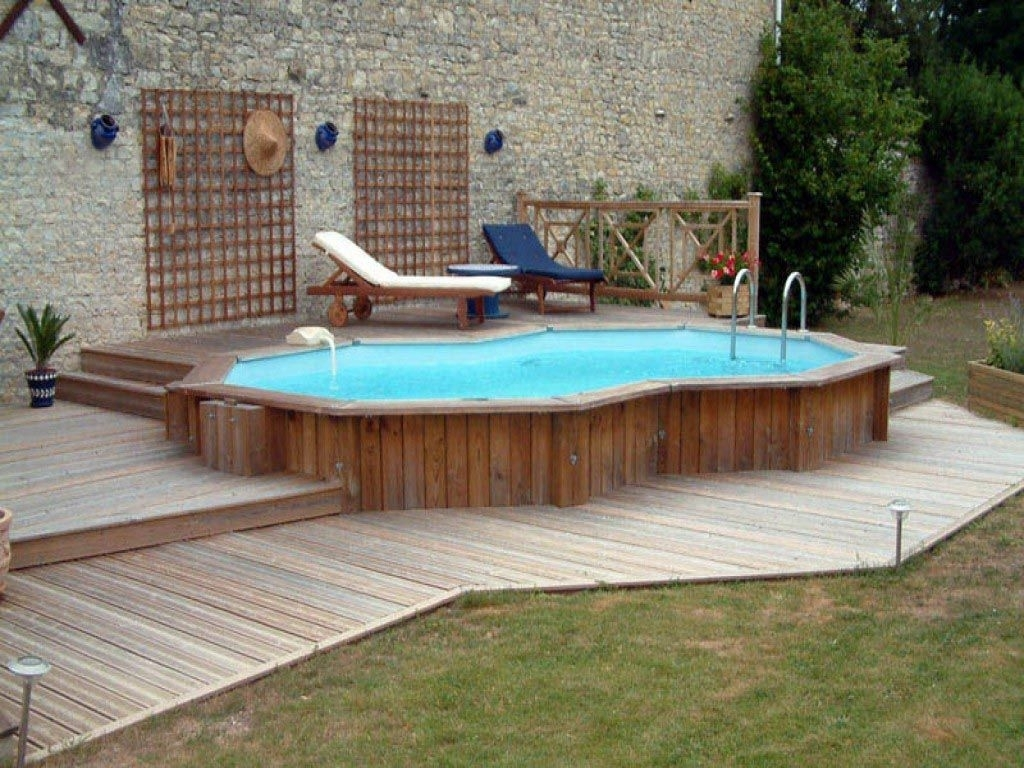 Semi Inground Pool Kits Hickory Randolph Indoor And Outdoor Design