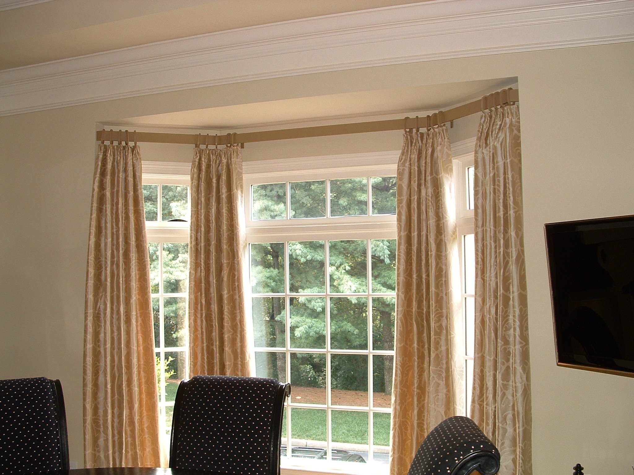 Bay Window Curtain Rod Lowes Lowes Bendable Curtain Rod Randolph Indoor And Outdoor Design
