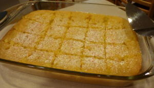 lemon brownies for a family celebration