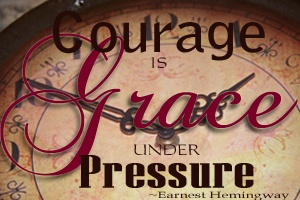 Grace under pressure button