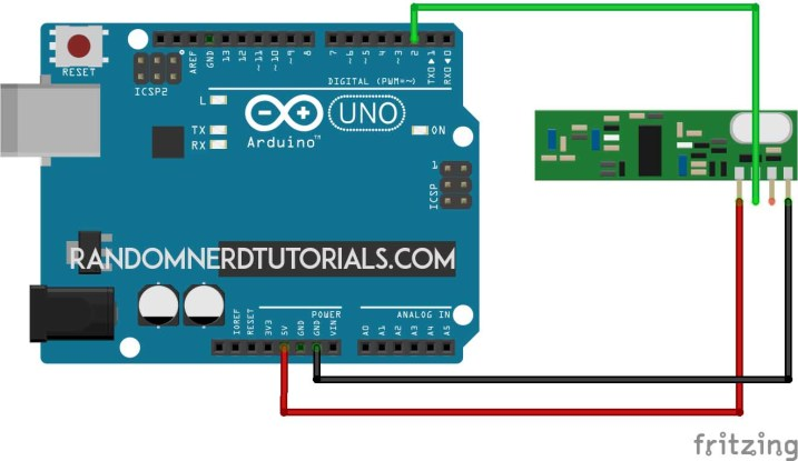 433mhz receiver circuit esp8266 - Copy