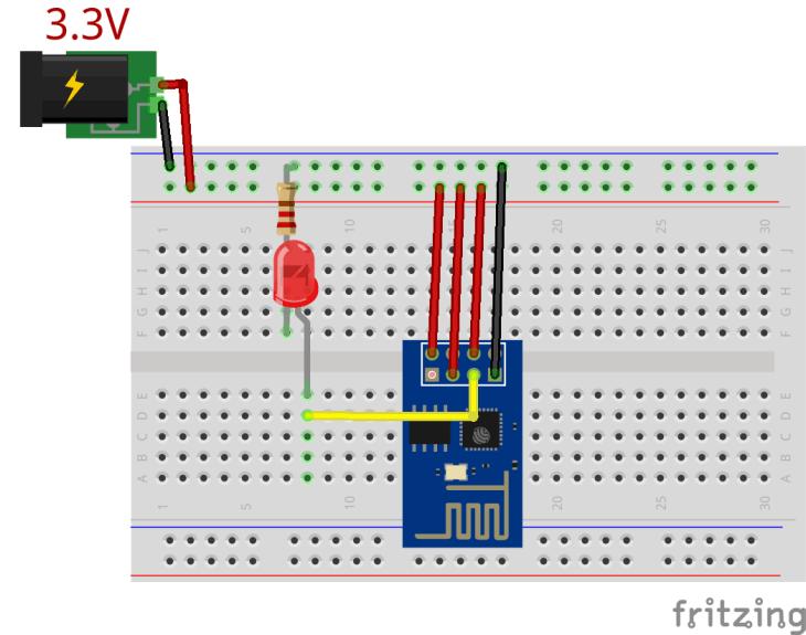ESP8266 Blinking an LED