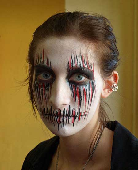 Top 20 Halloween Makeup Ideas For Women 2014 | Random Talks