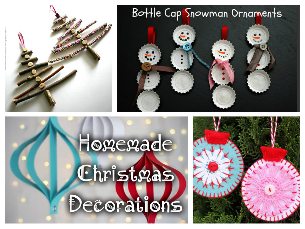 saveenlarge 33 handmade christmas ornaments - Homemade Christmas Decoration Ideas