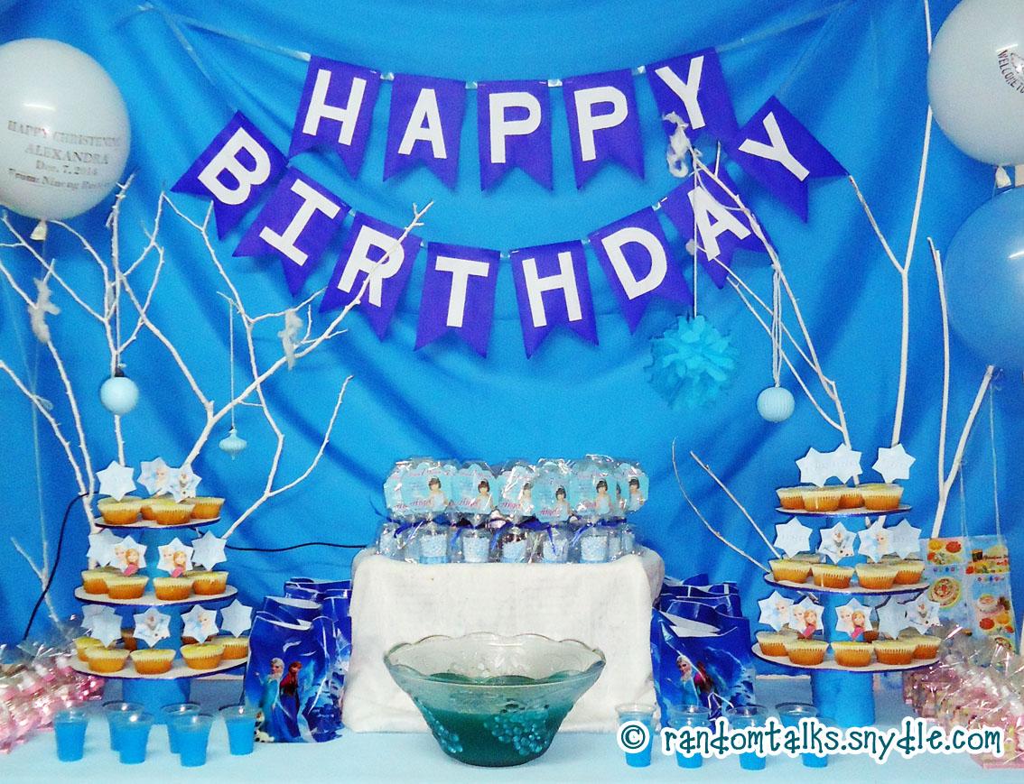 My Frozen Birthday Party Ideas Under $100