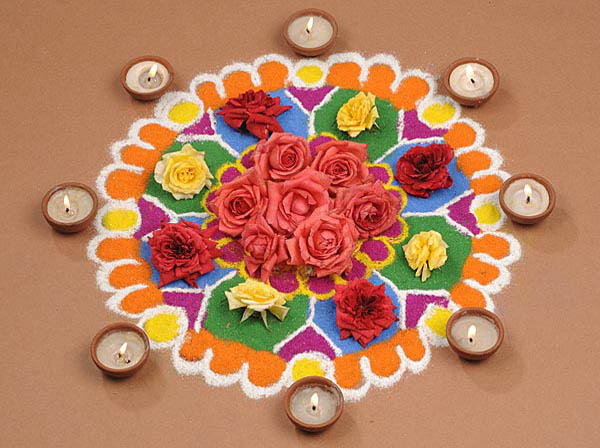 22 Magnificent Rangoli Designs For Diwali Random Talks