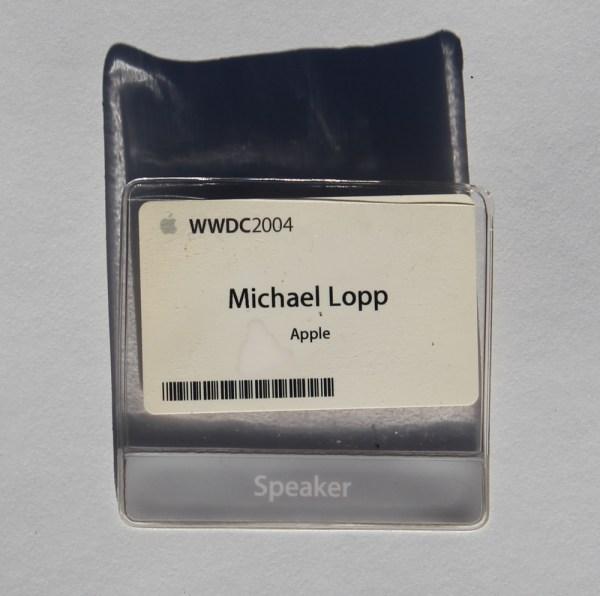 First WWDC