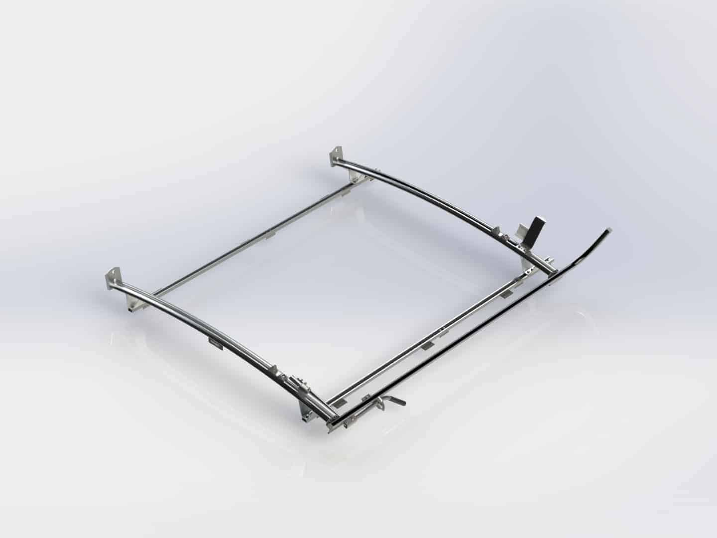 Single Side Ranger Ladder Rack 2 Bar System Ram