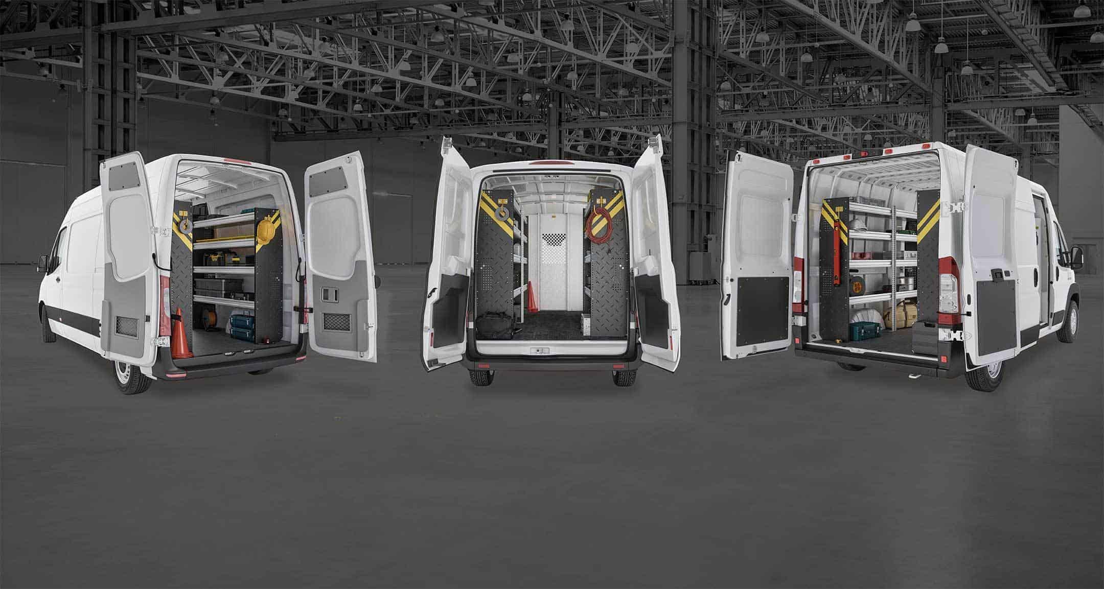 New Ranger Design Commercial Van Shelving Ranger Design