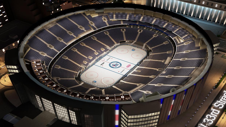New York Rangers Virtual Venuetm By Iomedia