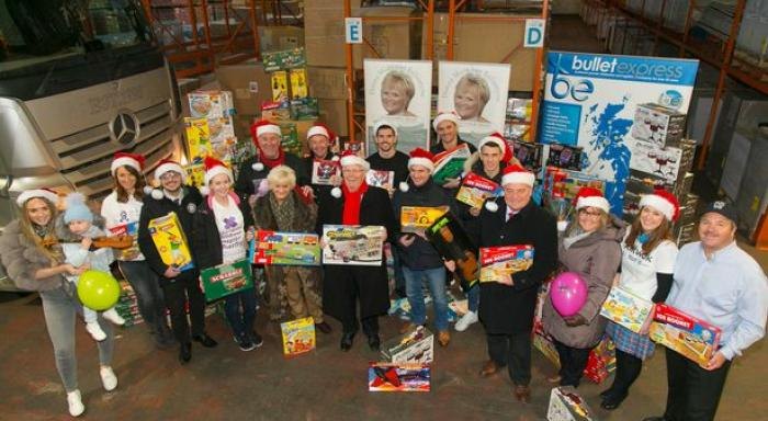 Christmas Toy Boost For Local Children Rangers Charity