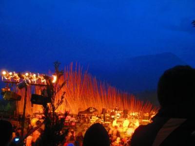 Panggung Jazz Gunung Kala Senja
