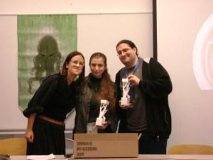 Vesna Kurilic (organizer), Andrina Pusic, Igor Rendic