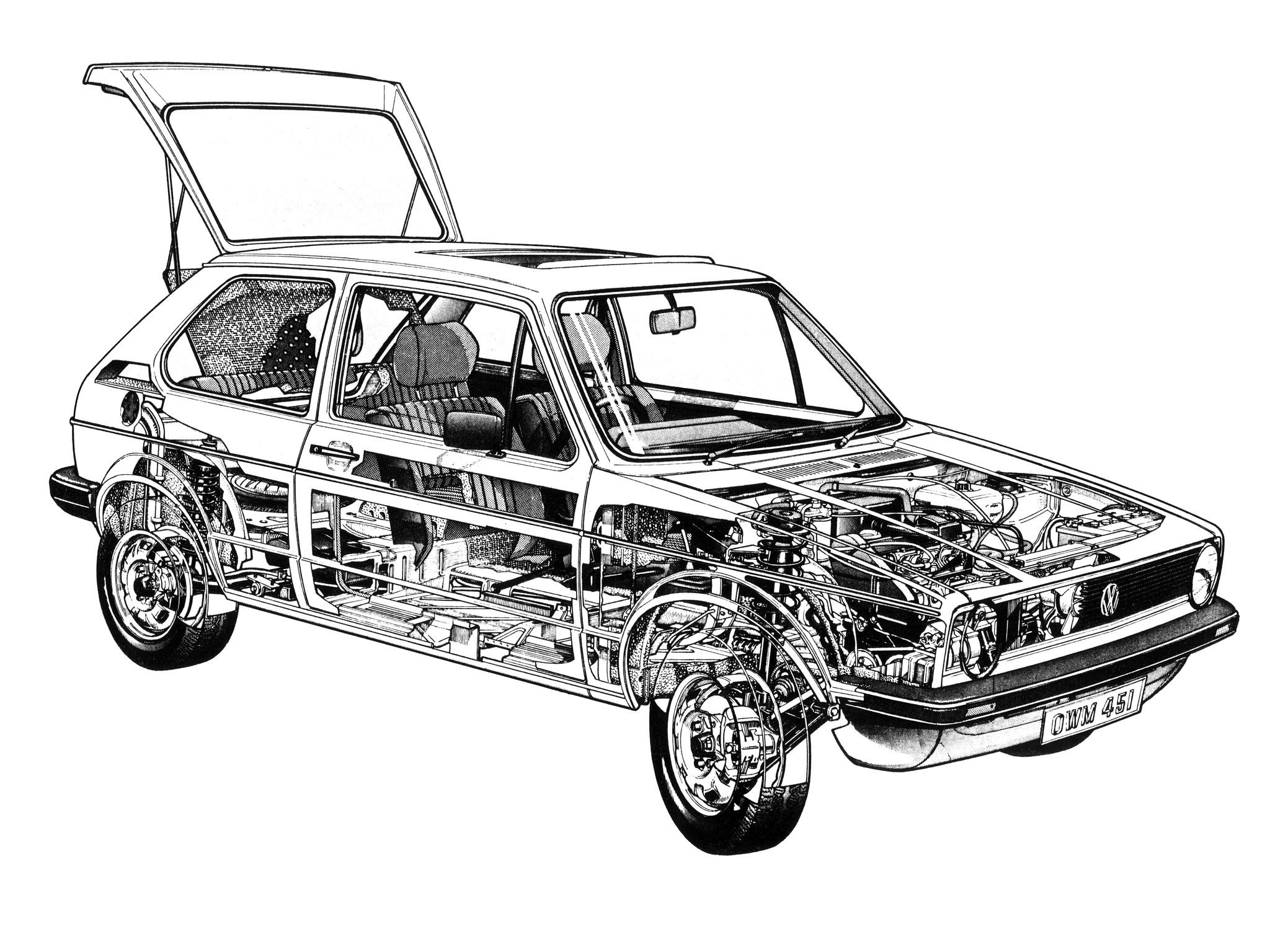 1975 porsche 914 del Schaltplan