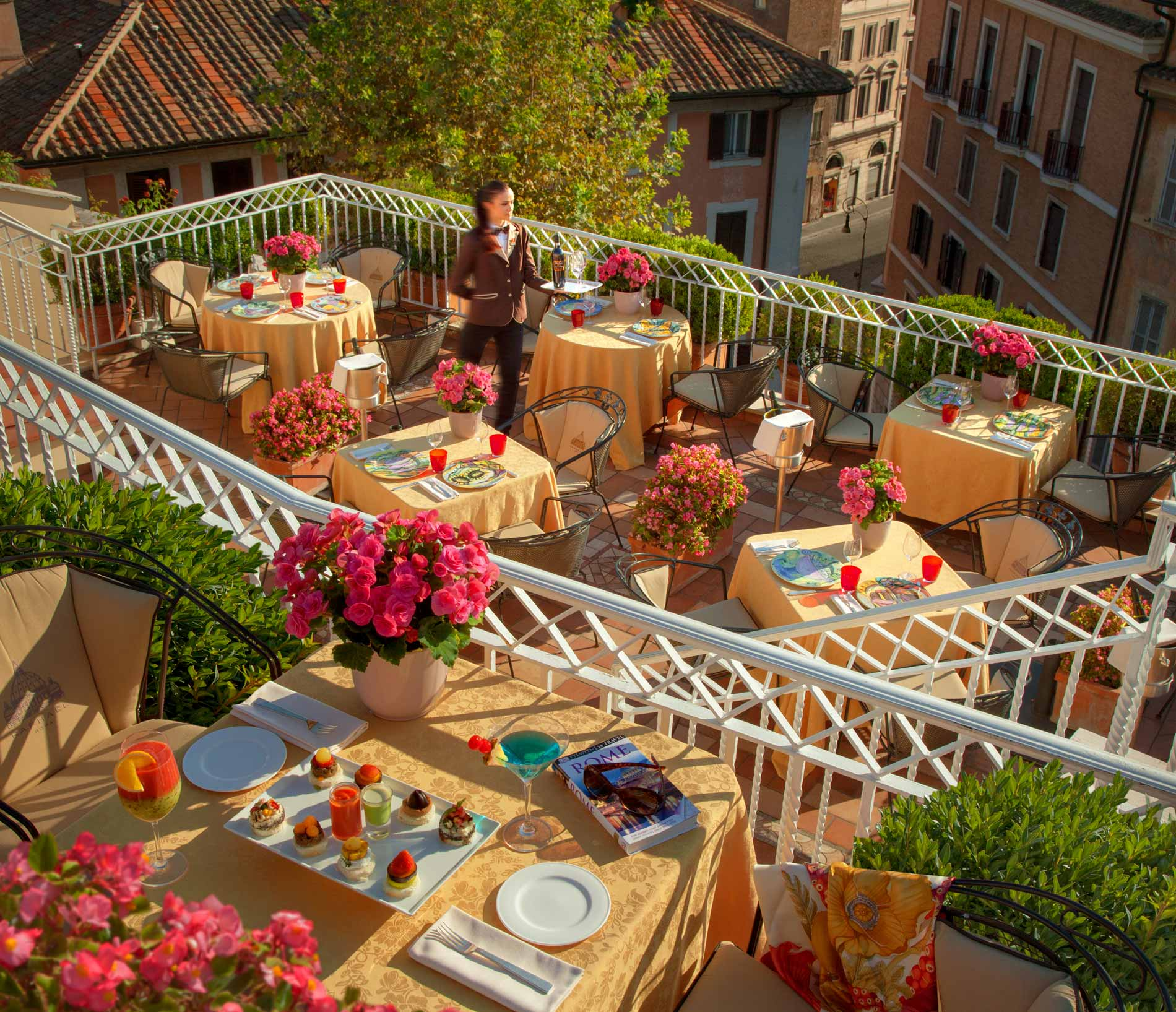 Toit Terrasse Hotel Raphael The Terrace