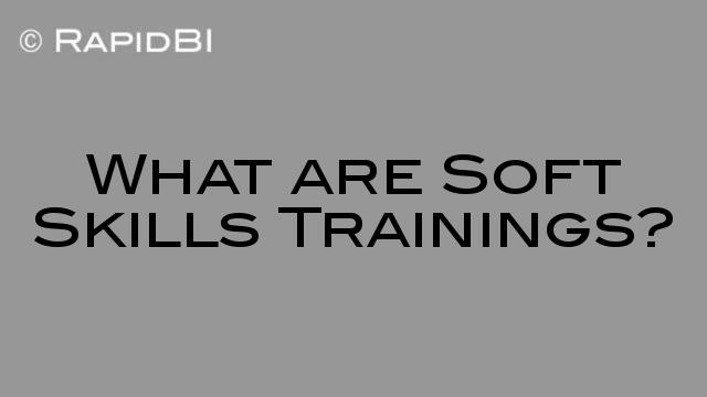 Soft Skills and Technical Skills Training - what is the difference? - what are soft skills