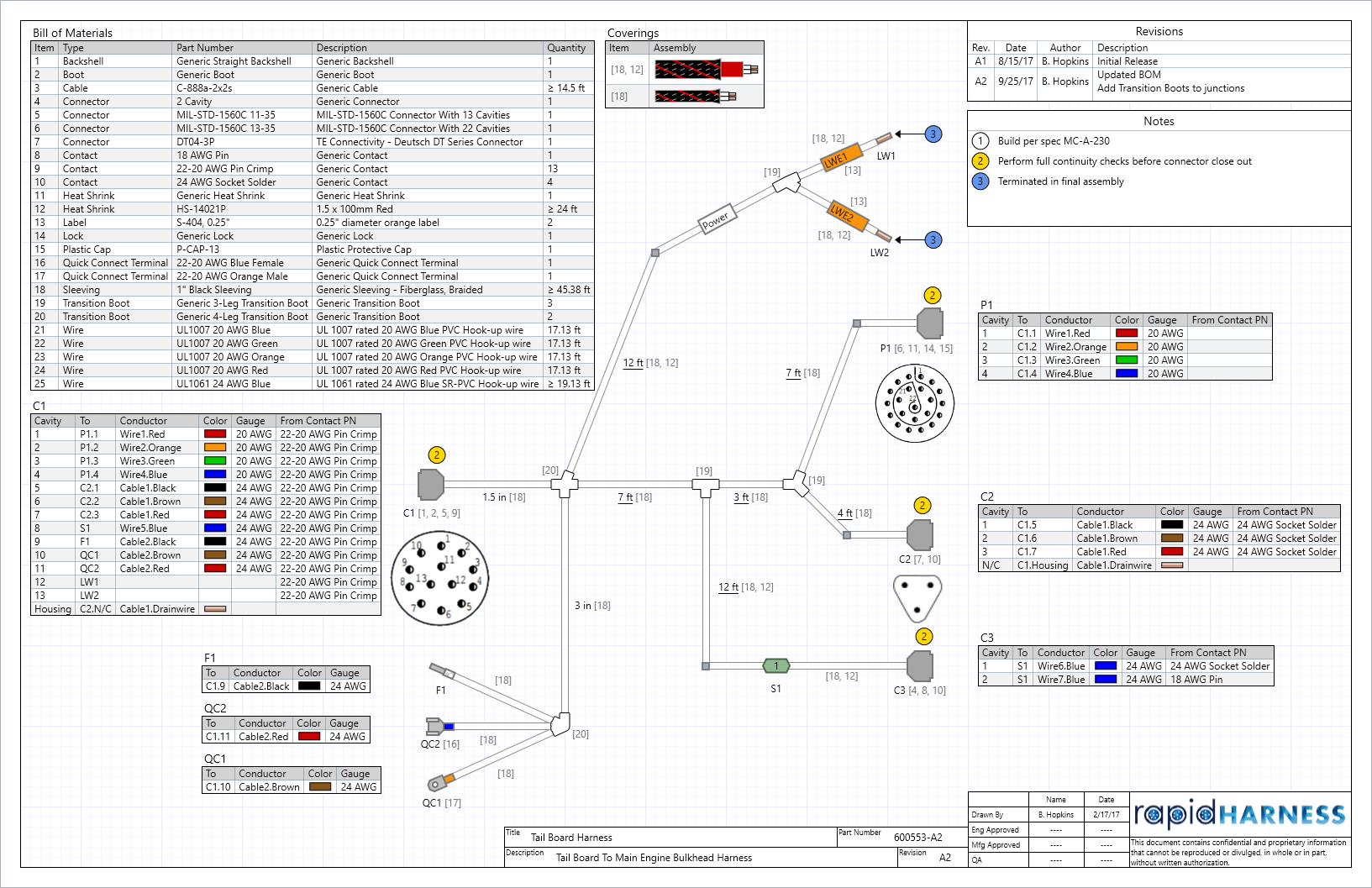 wiring harness drawing software