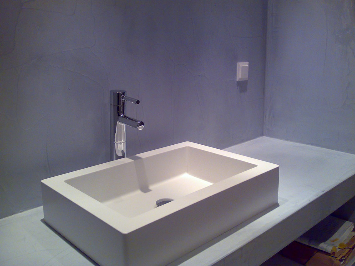 B&b Barcellona Bagno Privato Rapid Mix Microcemento Rasante In Pasta Superfici In