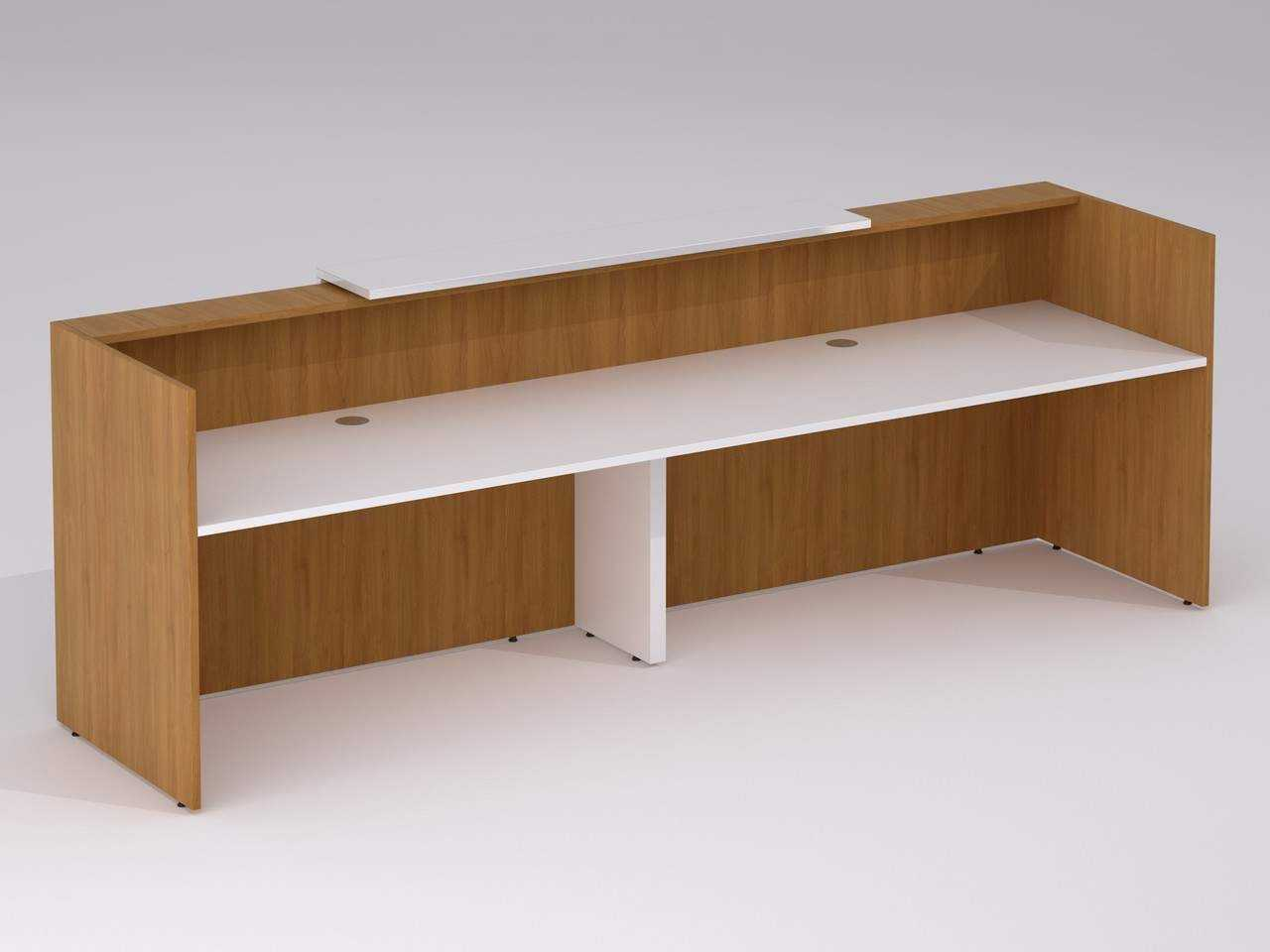 2 Person Executive Desk Tcs Capri Executive Office Desk With Intergrated Storage