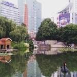 Xujiahui Park our favorite neighborhood of Shanghai