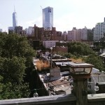 Sweeping Manhattan view from @nomadicmatt old apartment last barbeque on…