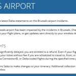 Brussels Airport Waiver