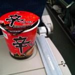 Korea Air Instant Noodles