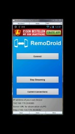 Remotely access Android Phone