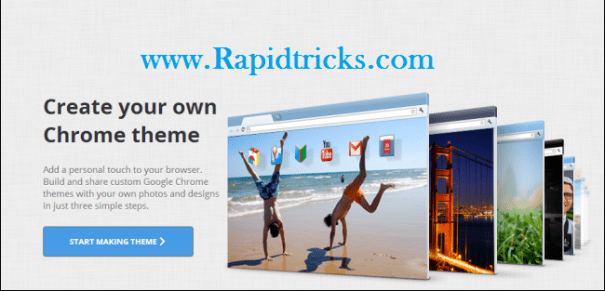 How To Create Your Own Google Chrome Theme Easily