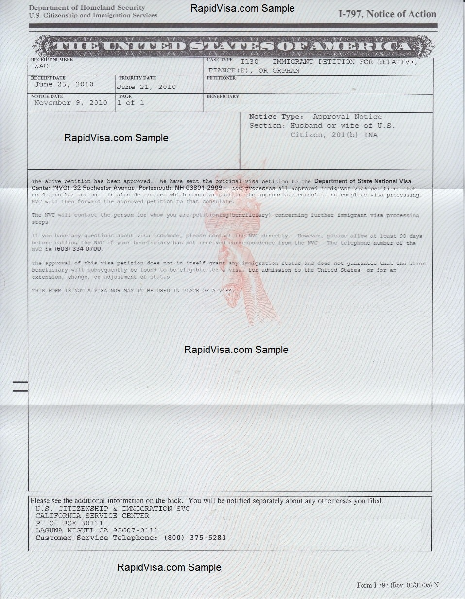 sample cover letter for green card application
