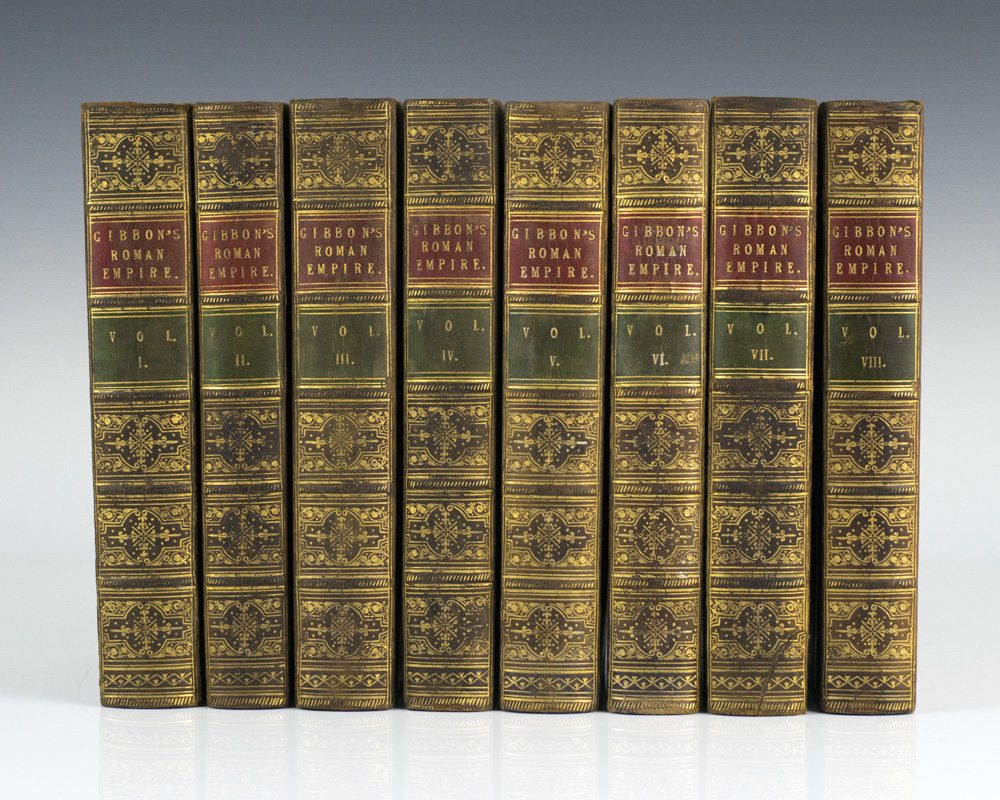 O History S The History Of The Decline And Fall Of The Roman Empire 8 Volumes Complete