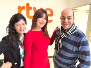 Entrevista en RNE el día de la inauguración