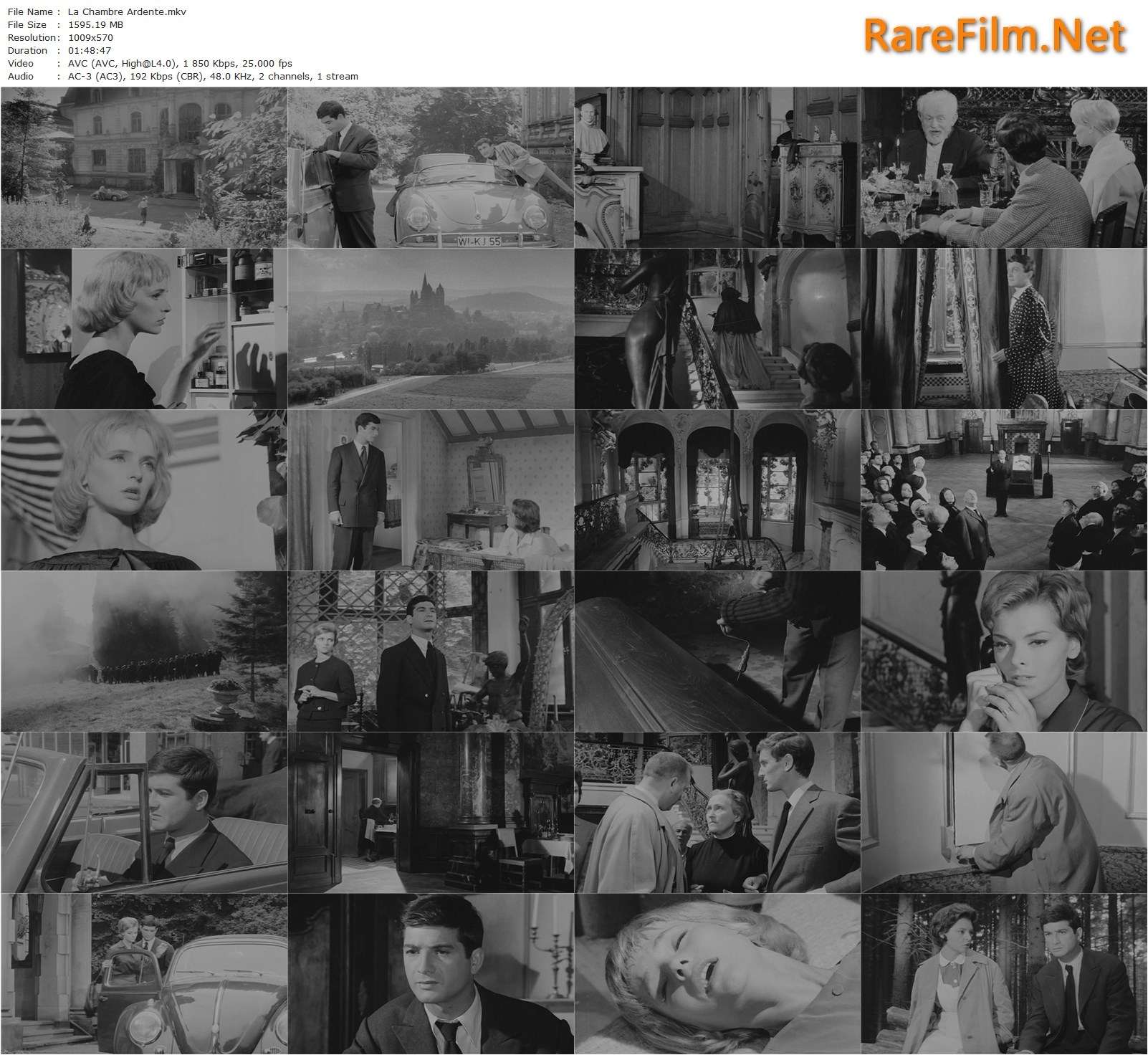 La Chambre Ardente Julien Duvivier The Burning Court 1962 Julien Duvivier Nadja Tiller Jean