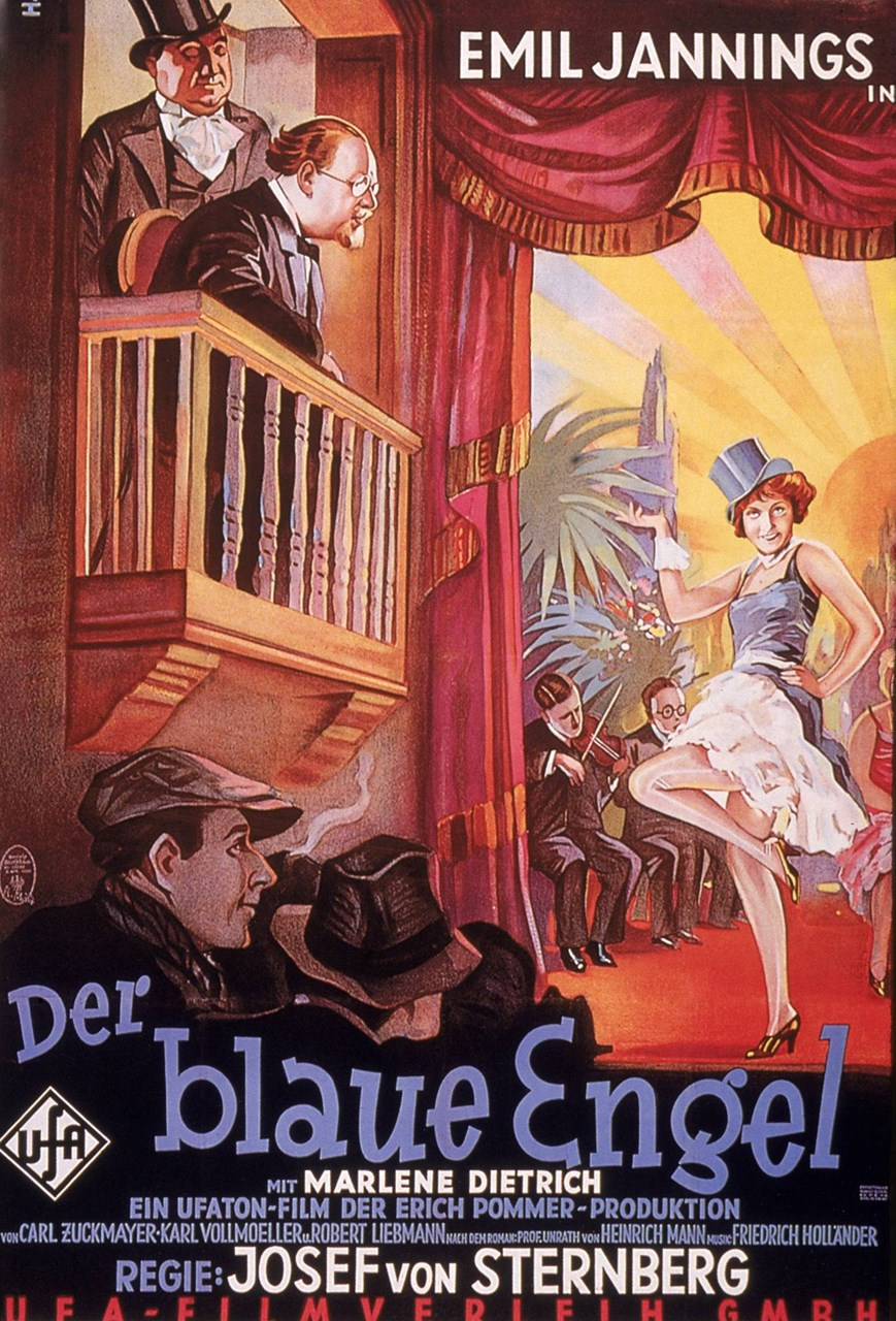 Blau Engel Der Blaue Engel 1930 With Switchable English Subtitles