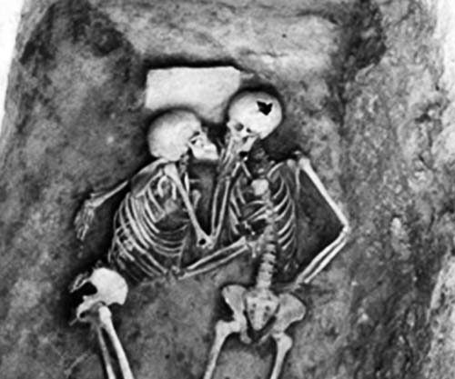 Cute Couple Fighting Wallpaper The 2800 Years Old Kiss