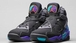 """The Air Jordan 8 """"Aqua"""" Is Releasing for Black Friday"""