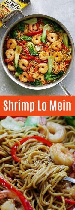 Fabulous Most Delicious Shrimp Lo Mein Recipe Shrimp Lo Mein Easy Delicious Recipes Shrimp Lo Mein Calories Shrimp Lo Mein Instant Pot Shrimp Lo Mein